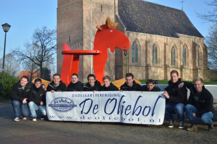 Oudejaarsvereniging De Oliebol 2016 Hobbel Eland Ikea Zwolle